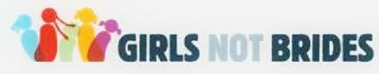 Girls Not Brides logo