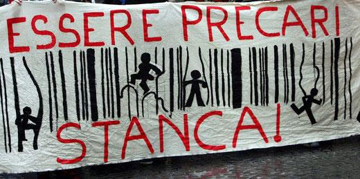 In protesta anche i precari della scuola a Reggio Calabria