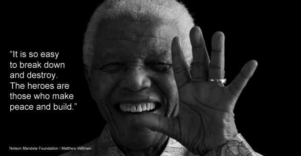 Mandela:muore uno dei simboli della lotta per l'uguaglianza. Reazioni politiche e cordoglio della UIL. Biografia.