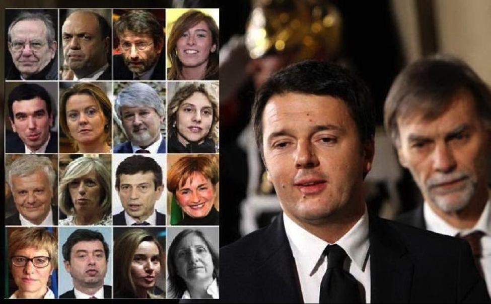 Chi sono i 16 Ministri del Neo Governo Renzi