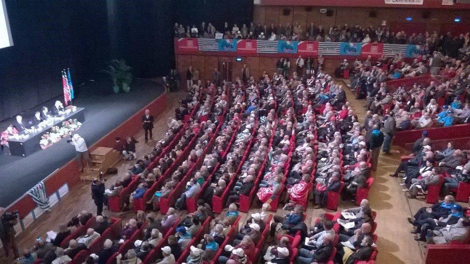 Giornata Nazionale di mobilitazione unitaria dei pensionati Roma auditorium della conciliazione