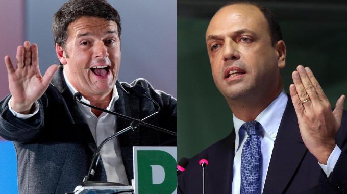 Alfano presenta a Renzi la sua agenda per il 2015 Il premier blinda l'asse con Ncd, che si sente determinante