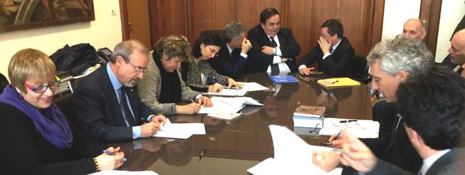 Oggi firma convenzione CGIL, CISL, UIL, Confindustria e INPS su rappresentanza e rappresentatività