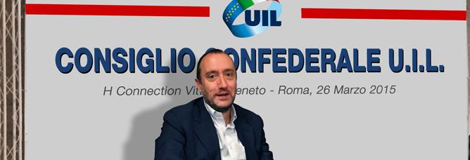 Benedetto Attili è il nuovo Tesoriere della Uil Nazionale