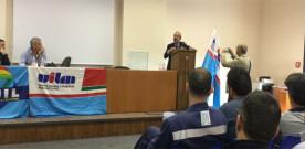 Barbagallo ai delegati dell'ILVA: «Partecipiamo, insieme, al rilancio dello stabilimento»