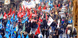 Sindacati: Manifestazione nazionale il 28 novembre
