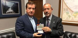 Barbagallo a colloquio con Ed Royce, Presidente della Commissione Esteri della Camera Statunitense
