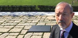 Barbagallo rende omaggio alla tomba di Kennedy