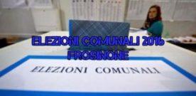 Elezioni Comunali 2016 Frosinone