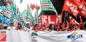 Cgil, Cisl, Uil: Governo apra subito confronto su 'Casa Italia'