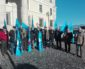 I Pensionati manifestano davanti la Prefettura di Frosinone contro la manovra economica