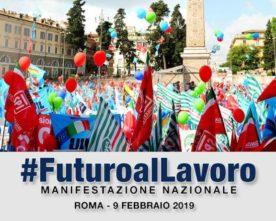 Cgil, Cisl, Uil: 9 febbraio manifestazione nazionale unitaria a Piazza San Giovanni